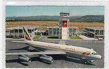 ETHIOPIAN AIRLINES JET AT ADDIS ABABA AIRPORT: Ethiopia postcard (C24469)