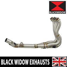 GSXR 600 750 08-10 EXHAUST DOWN FRONT PIPES HEADERS COLLECTOR DECAT RACE DE CAT