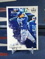 Tyrone Taylor RC 2020 Panini Diamond Kings #93 Rookie Milwaukee Brewers