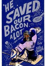Curtis Joseph Design Souvenir Ticket from Toronto Maple Leafs 100th Year