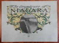 Niagara Falls NY views by Pen & Picture c. 1900 illustrated souvenir album