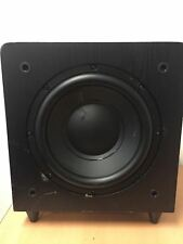 "Sunfire SDS10 DS 10"" Black Dual Driver 500W Peak Powered Subwoofer"