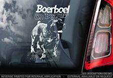 Boerboel - Car Window Sticker - Dog Sign -V08