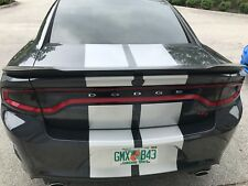 2015-2017 DODGE CHARGER TAIL LIGHT PRECUT TINT COVER SMOKED OVERLAYS