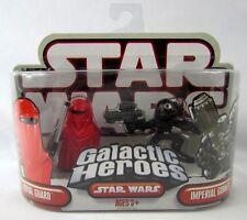 Hasbro Star Wars Galactic Heroes Royal Guard & Imperial Gunner Mini Figures New