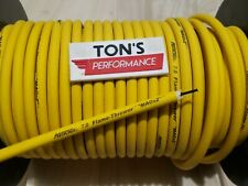 7mm SUPPRESSION CORE SPARK PLUG WIRE ignition sold by foot SOLID YELLOW stock