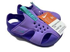 Nike Sunray Protect 2(TD) Purple Sandal Little Girls Toddler Size 8c New!