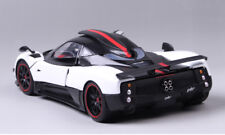 1:18 Scale Diecast White&Black Pagani Huayra Vehicle Sports Car Model Toy Gift