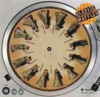 "PHENAKISTOSCOPE #1 Animated Slipmat Turntable 12"" Record Player DJ Audiophile"