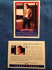 1992 Tenny Cards, Robert Duncan Cameron, Jr., NM-MT