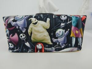 Nightmare Before Christmas Tissue Box Cover With Circle Opening - Great Gift!