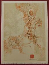 Lithografie - Dang Lebadang - Les Zèbres III