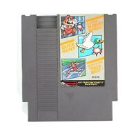Super Mario Bros. / Duck Hunt / World Class Track Meet Nintendo NES 1988 Tested