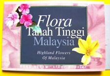 STAMP BOOKLET MINT 1997 HIGHLAND FLOWERS OF MALAYSIA