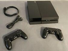 PlayStation 4 500GB Jet Black mit 2 Controllern