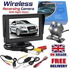 Wireless LCD Monitor Foldable Reversing Parking Camera + 4.3 Car Rear View Kit