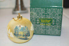 Thomas Kinkade Painter of Light Christmas Ornament
