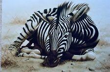 ANDREW BONE AFRICAN CHILD II GICLEE ZEBRA SIGNED #HC105/150 W/COA AMAZING!