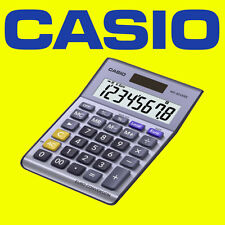 Casio MS-80VERII Solar Desk Top Calculator Euro Currency Home Office Business