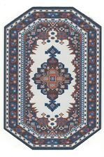HEX SHAPE WOVEN RUG A  BEAUTY DOLL HOUSE FURNITURE