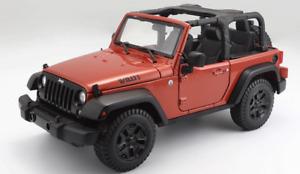 1:18 2014 Jeep Wrangler TJ Diecast | Maisto NEW