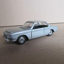 180F Vintage Solido 157 BMW 2000 CS Argenté 1:43
