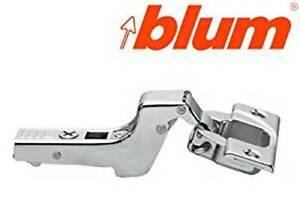 BLUM 110° FULLY CRANK CLIP TOP HINGE - SELF CLOSE - SCREW ON BOSS - 71T3750