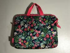 Lilly Pulitzer Multi-Color Floral Print Computer Bag
