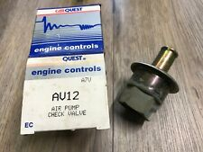 88-96 FORD BRONCO F SERIES TRUCK NEW CARQUEST AIR PUMP INJECTOR CHECK VALVE AV12