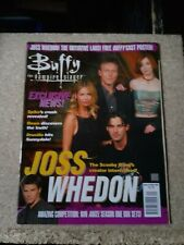 Buffy the vampire slayer magazine issue 20 2000 titan with poster