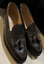 New $1350 Ralph Lauren Crockett&Jones Men Loafers Shoes DK Brown 11.5 US Eng