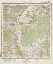Russian Soviet Military Topographic Maps - INSKO (Poland), 1:50 000, ed.1981