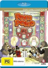 Pom Poko (Blu-ray, 2014) New, ExRetail Stock (126)