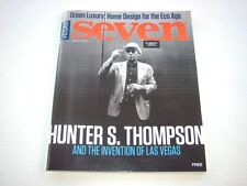 Vegas Seven Magazine Hunter S. Thompson and the Invention of Las Vegas NEW