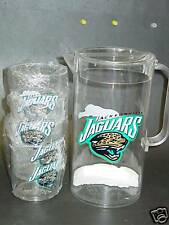 NFL, Jacksonville Jaguars, Pitcher and Tumbler Set, New