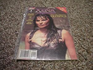 XENA Warrior Princess and the Original Olympics # 1 Topps Comic Book NM/MT photo