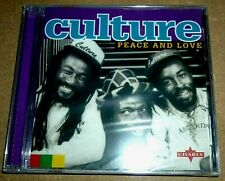 Culture - Peace And Love / CD / 2001 / OVP Sealed / Reggae / Roots