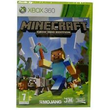 MINECRAFT XBOX 360 TOUT NEUF VIDEO GAME SCELLÉ OFFICIEL X360 SCELLÉ