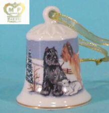 Skye /& cairn terrier Porzellan glocke figur porzellanglocke 5356