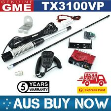 EXPRESS GME TX3100VP VALUE PACK UHF CB TWO WAY RADIO ANTENNA VEHICLE MOUNT TRUCK