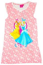 Vêtements chemises de nuit rose Disney pour fille de 2 à 16 ans