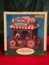"""(1) Lemax Christmas Carnival Table Accent """"Cotton Candy Stand"""" 2007 #73647"""
