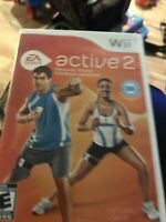 Active 2 Personal Trainer - Nintendo Wii Game EA Sportd (2010) Complete