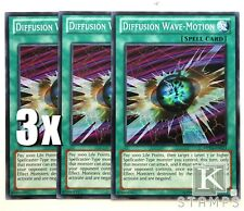 YuGiOh, Yugi's Collector Box, 3X, Diffusion Wave-Motion DPYG-EN023, Common, New