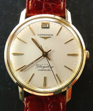 Longines flagship cal.341 Grand Prize running vintage Automatic Men's Watch 1961