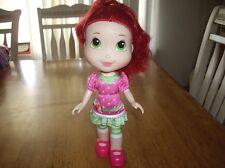 "EUC Hasbro Strawberry Shorcake 11"" Doll Strawberry Smell Hair"