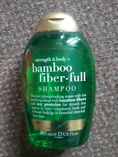 New OGX Strength and Body with Bamboo Fiber-Full  Shampoo385 ml