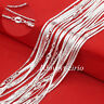 Wholesale Lots 925 Sterling Solid Silver 2MM Flat Anchor Chain Necklace 16-30""
