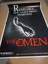 THE OMEN ~1976~ Original 35x23