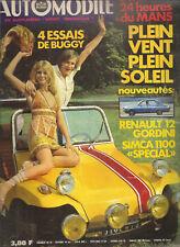 L'AUTOMOBILE 290 1970 24H MANS INDY 500 BUGGY GP BELGIQUE WEMBLEY MEXICO SIMCA 1